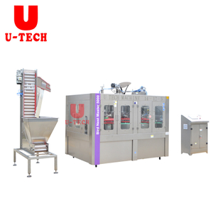 5000BPH 2019 Automatic Bird Nest Beverage Filling Capping Machine Glass Bottle Packing