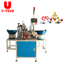 2020 Automatic Flip Top Cap Closing Assembly Machine