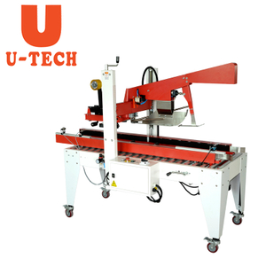 Automatic Flaps Folding and Side Belts Driven Sealer